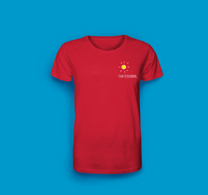 Herren T-Shirt in Rot Team Tecklenburg