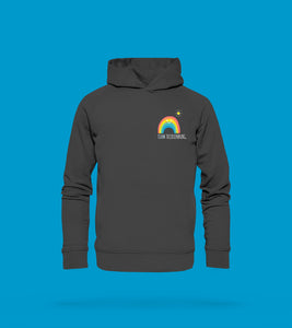 Hoodie Regenbogen in Anthrazit Team Tecklenburg