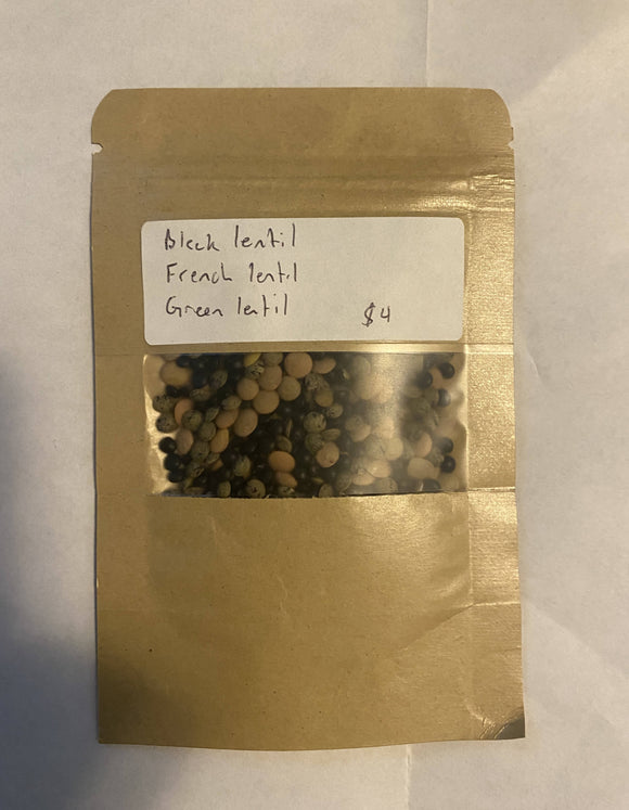 Lentil Sprouting Seed mix