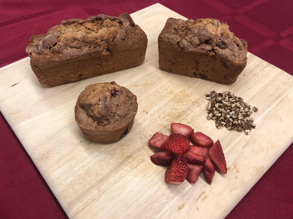 Strawberry Nut Bread