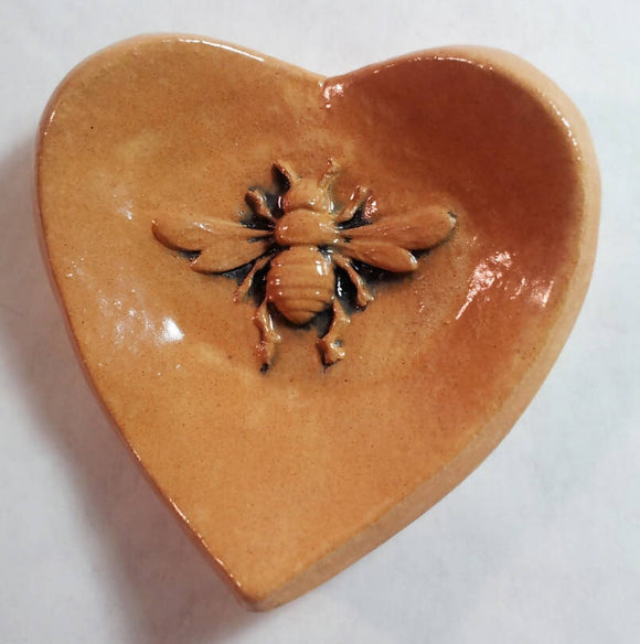 Bee Heart Bowl