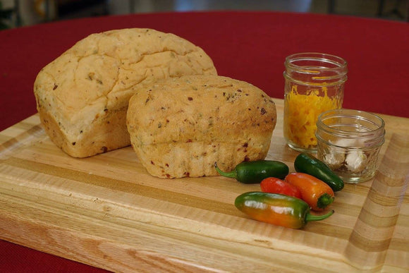 Jalapeno Cheese Onion Garlic Bread