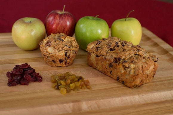 Cranberry Apple Raisin Bread