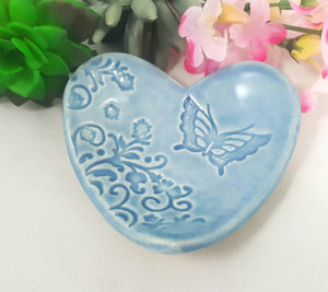 Butterfly Heart Bowl