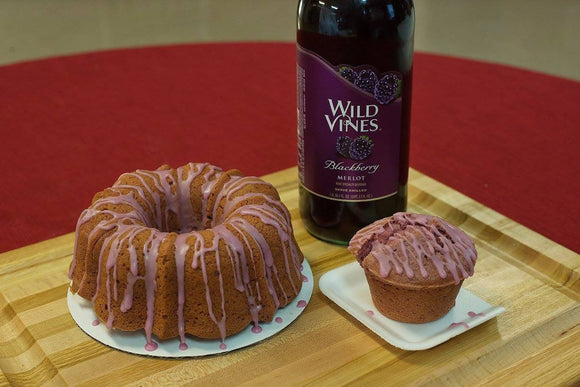 Blackberry Wine Cake
