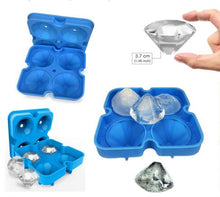 Load image into Gallery viewer, Silicone Mold diamond shape ice tray