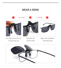 Load image into Gallery viewer, Clip On Frame UV400 Polarized Clips