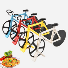 Load image into Gallery viewer, Bicycle Shape Pizza Knife
