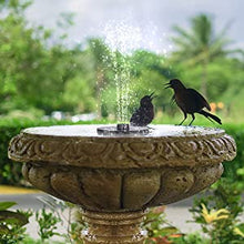 Load image into Gallery viewer, Solar Water Fountain
