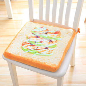 Simulation Bread Plush Pillow