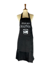 Drink More Bourbon Apron