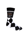Fancy Bourbon Drinking Socks