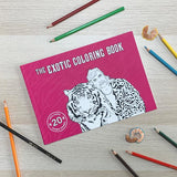 THE EXOTIC COLORING BOOK