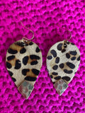 Lovely Leopard Earrings