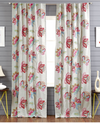 Tropical Breeze Embroidery Curtain