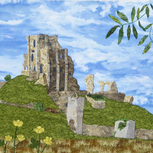 Corfe Castle under the Ash Tree