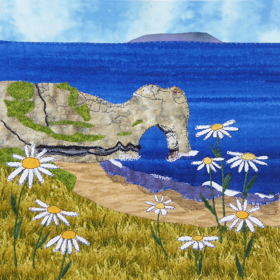 Durdle Door Daisies