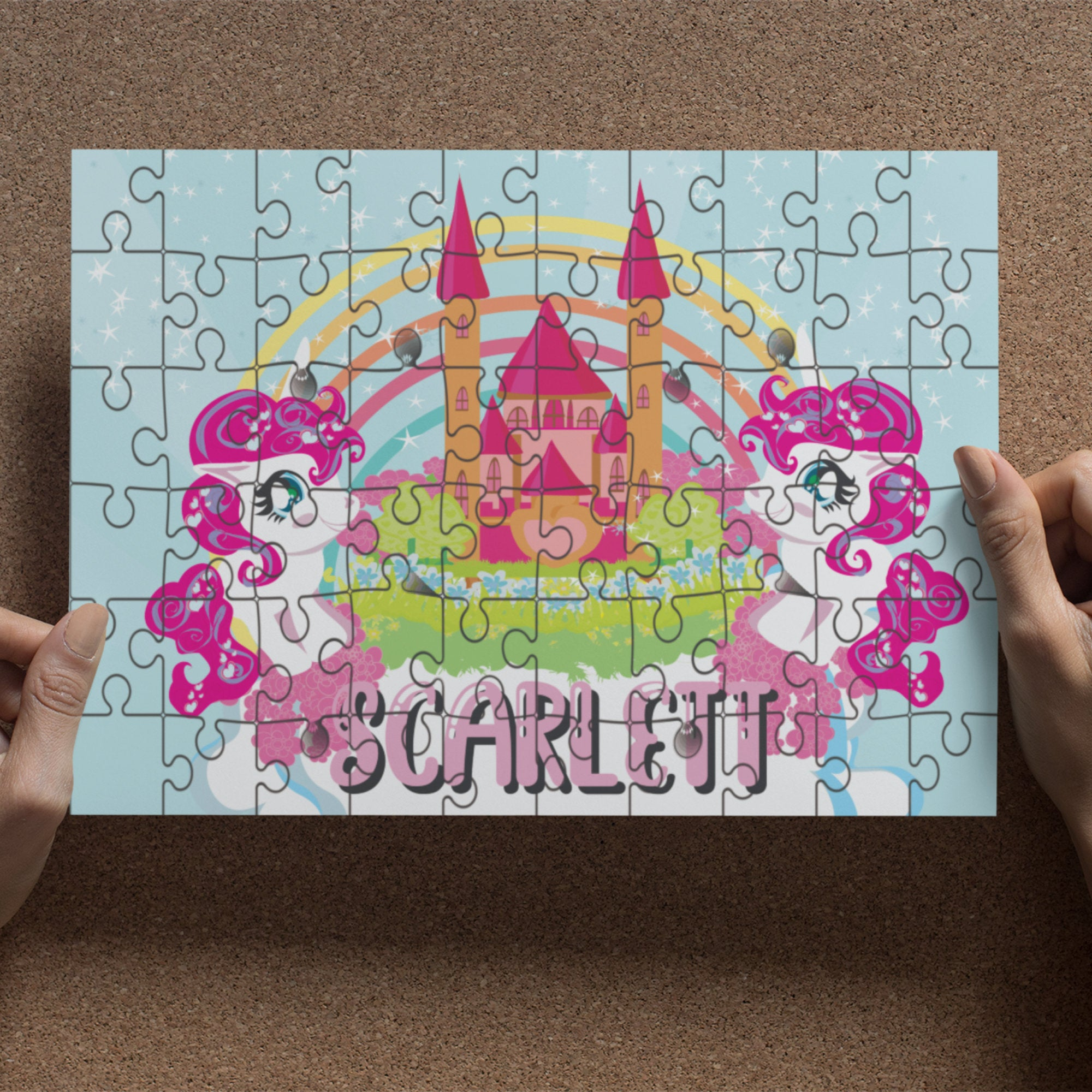 Cute Personalised Wooden Jigsaw various designs