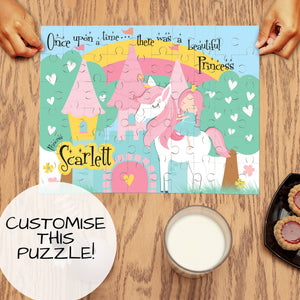 Kids Personalised Wooden Jigsaw