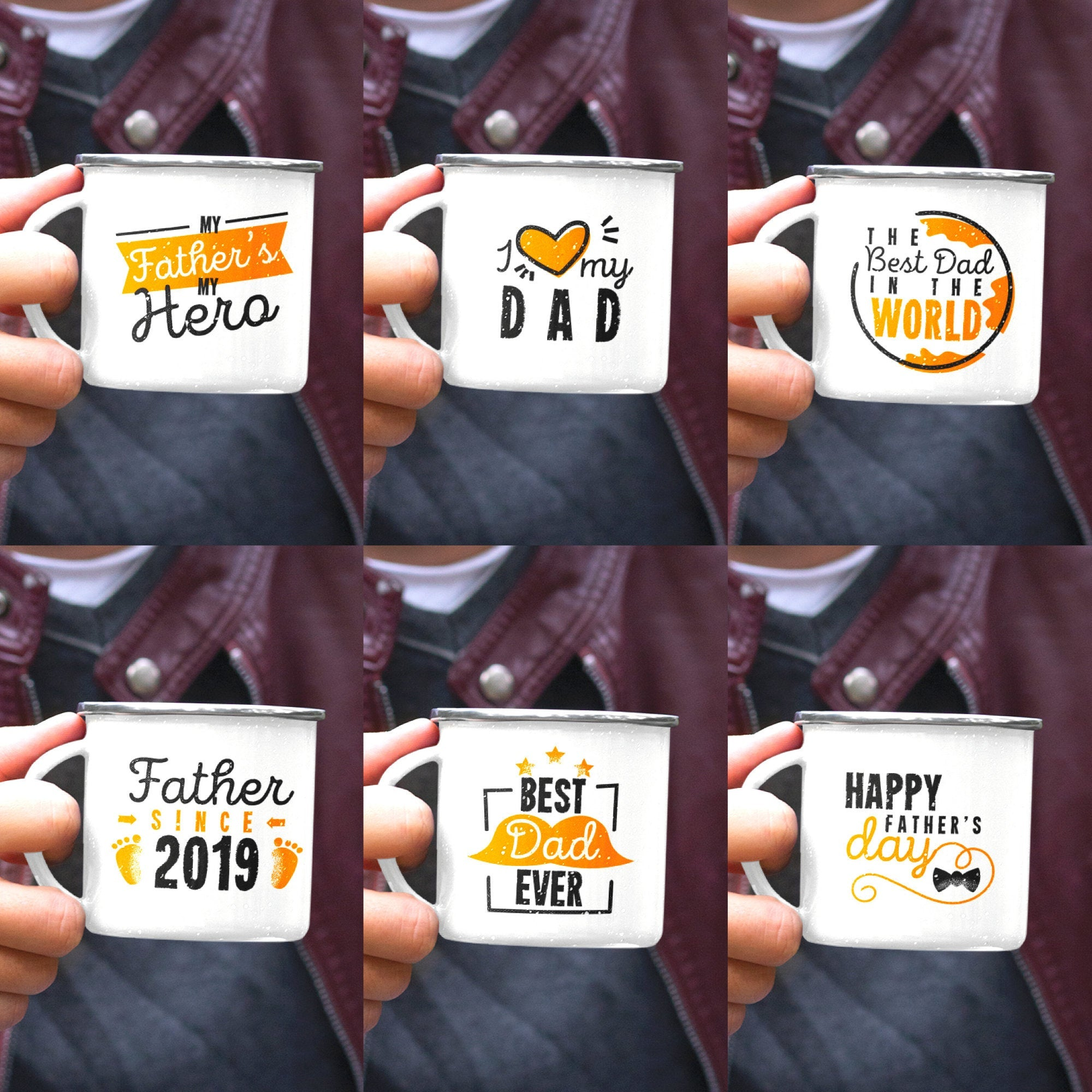 Father's Day Mug - Multiple designs