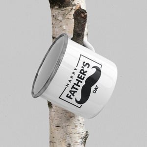 Father's Day Moustache Mug