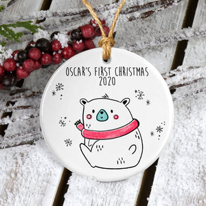 First Christmas Bauble