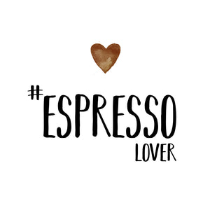 Espresso lover Cocktail-Servietten 25x25 cm