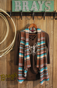 Rock & Roll Cowgirl Striped Vest