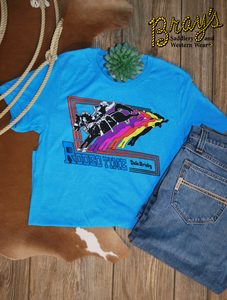 Dale Brisby Retro Saddle Bronc Rider T-Shirt