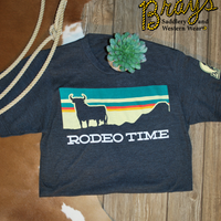 Dale Brisby Sunset Rodeo Time T-Shirt