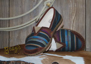 Tony Lama Women's Casuals {Renata Black Serape}