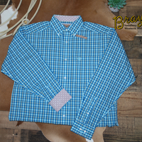 Ariat Wrinkle Free Verdon Classic Fit Button Shirt