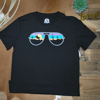 Rock & Roll Cowboy Dale Brisby Sunglasses T-shirt