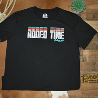 Rock & Roll Cowboy Dale Brisby Rodeo Time T-shirt