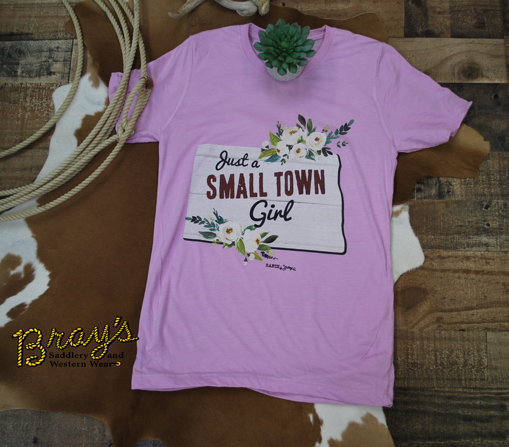 Just a Small Town Girl {North Dakota} T-shirt