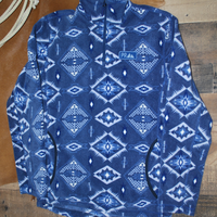 Powder River Outfitters Men's Navy Pullover