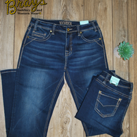 Rock & Roll Cowgirl Extra Stretch Jeans