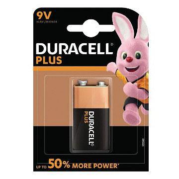 Batterie Tipo 9V Duracell Plus Power