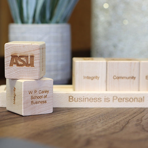 core value blocks and trays