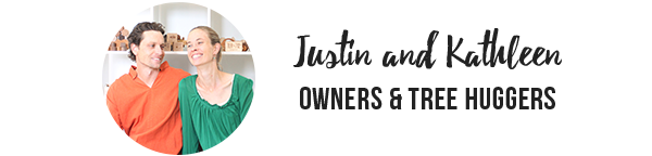 Justin and Kathleen, Smiling Tree Gifts owners and makers