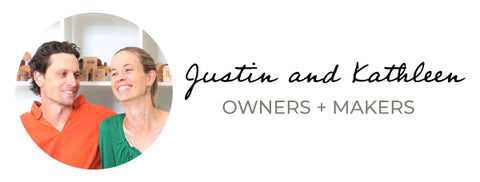 Justin and Kathleen Smiling Tree Gifts owners