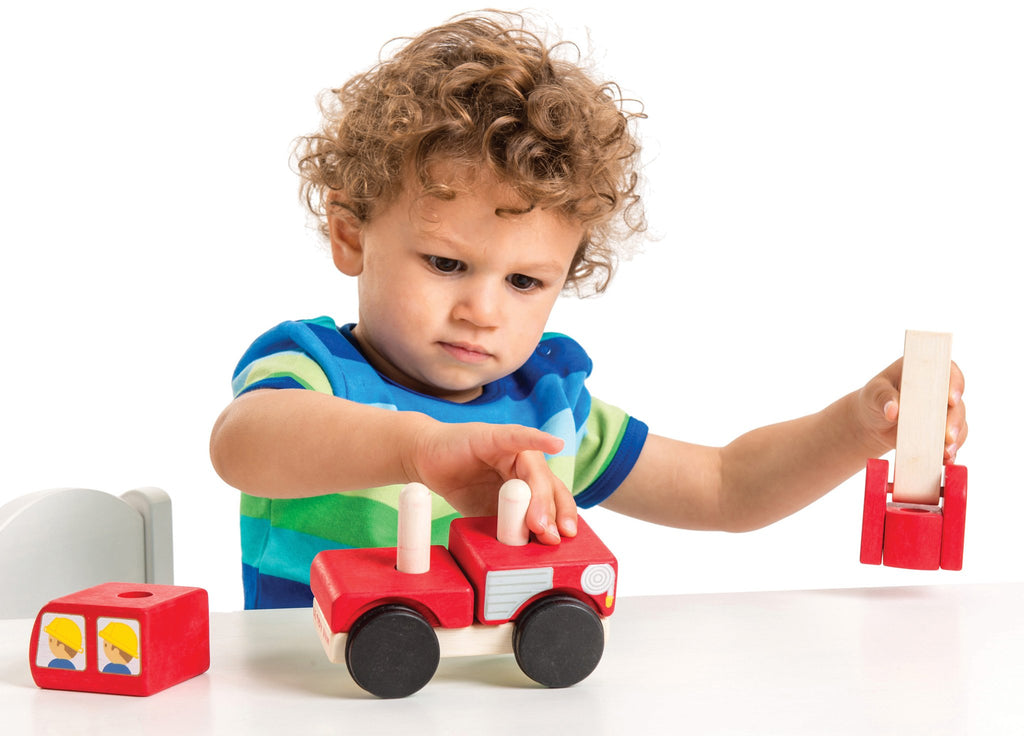 Fire Engine Stacker,  - Le Toy Van