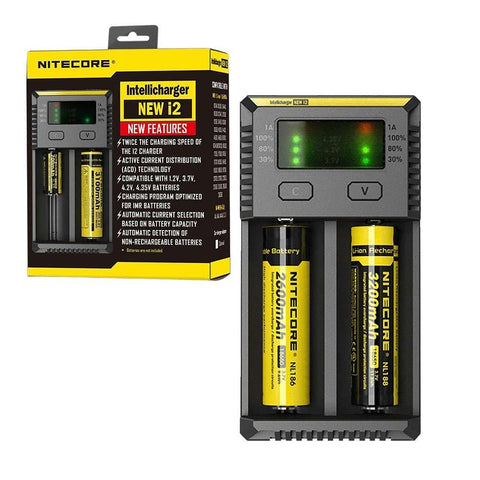 Nitecore Charger -  Vapor Delivery to Surrey, Maple Ridge, Abbotsford Chilliwack, Langley and Delta.
