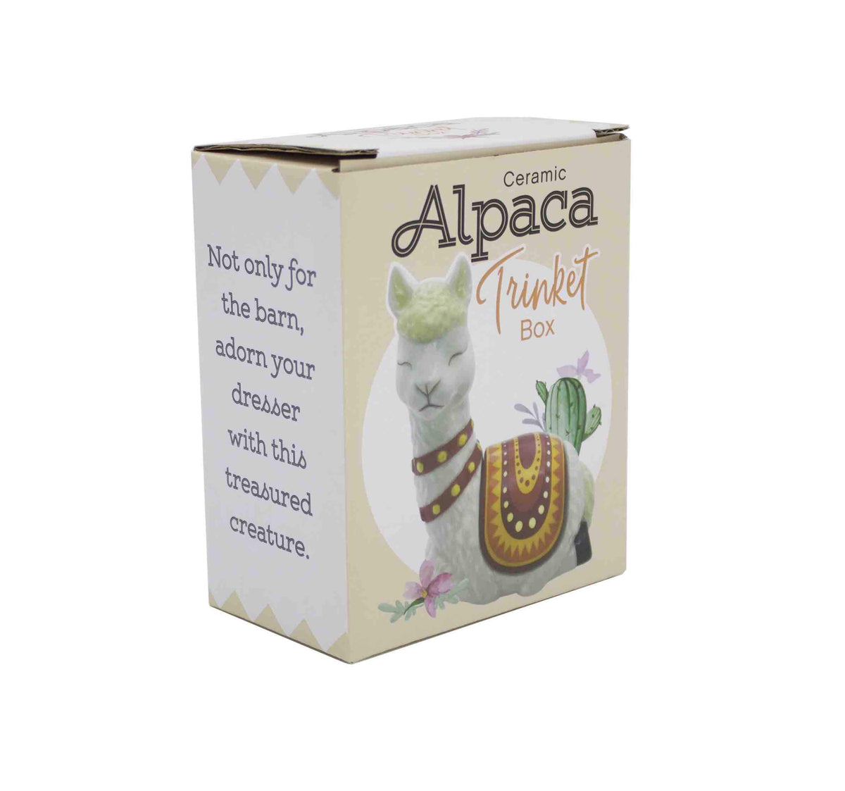 Alpaca Trinket Box