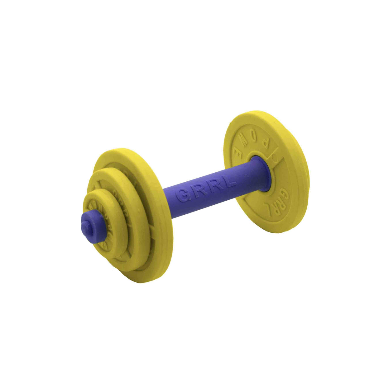 Girl Power Jumbo Barbell Eraser