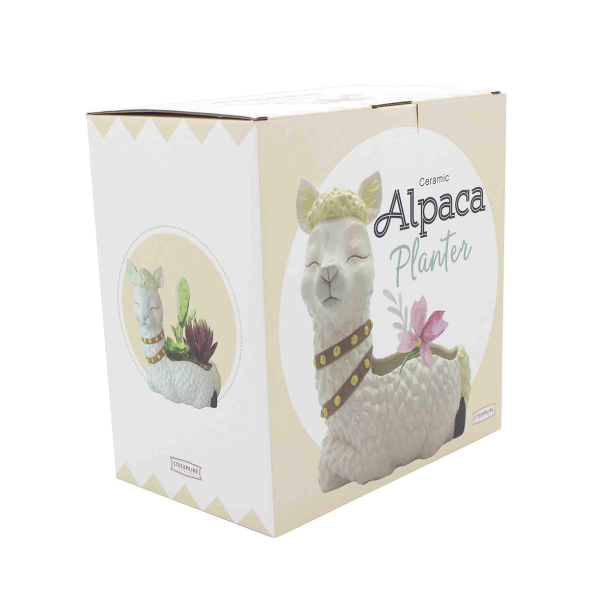 Alpaca Flower Pot