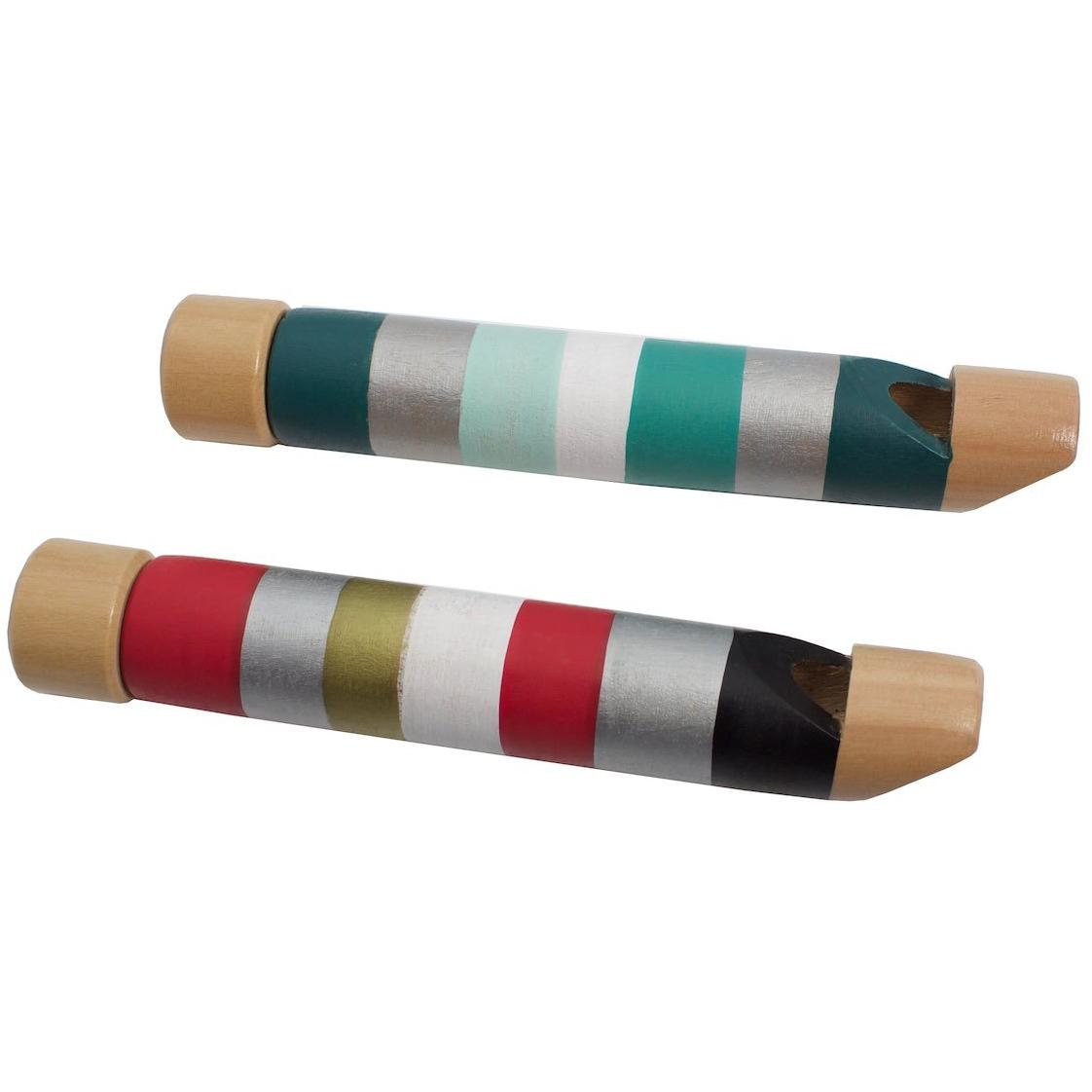 Wooden Slide Whistle Set