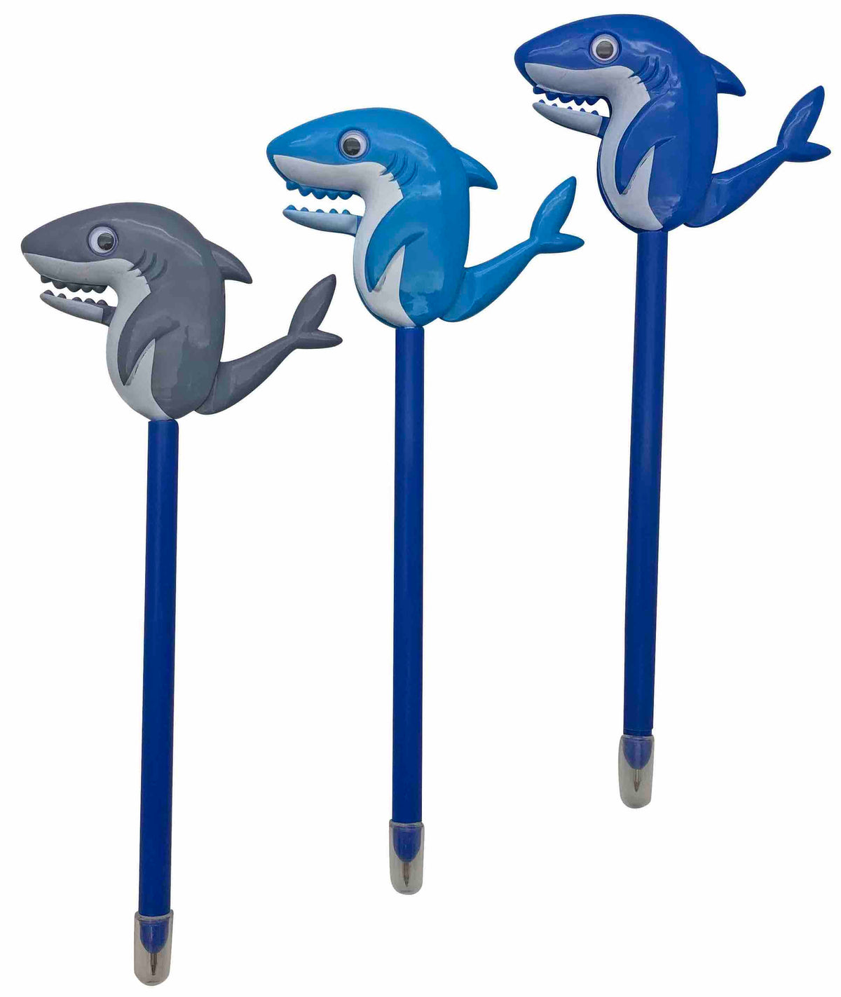 Shark Motion Pens, Set of 3