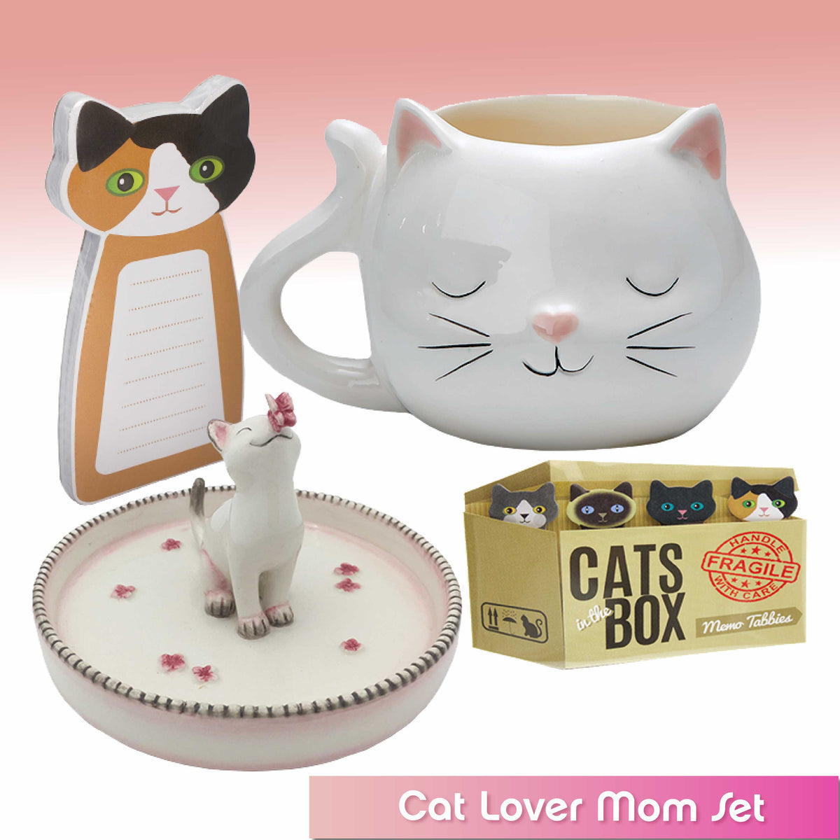 Cat Lover Mom Theme Set