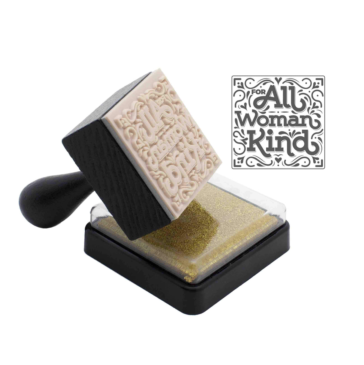 Boss Lady & For All Woman Kind Stamper Set